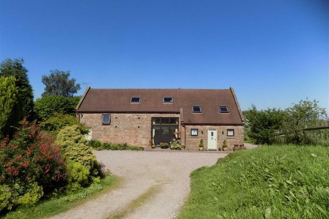 Thumbnail Detached house for sale in Belmont Road, Ipstones, Staffordshire