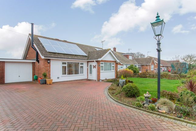 Thumbnail Detached bungalow for sale in Swafield Rise, North Walsham