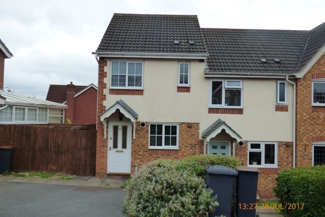 2 bed semi-detached house to rent in Rosebank View, Measham, Swadlincote