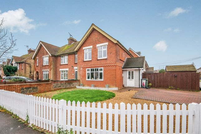 Thumbnail Semi-detached house for sale in Cranborne Avenue, Maidstone