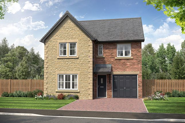 """Thumbnail Detached house for sale in """"Sanderson"""" at Heron Drive, Fulwood, Preston"""