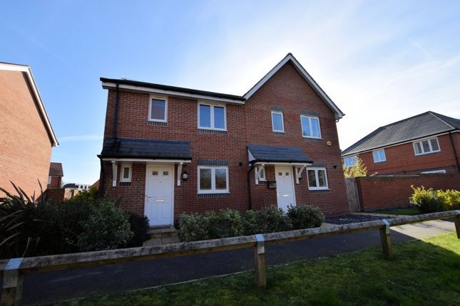 Thumbnail Semi-detached house for sale in Elk Path, Three Mile Cross, Reading