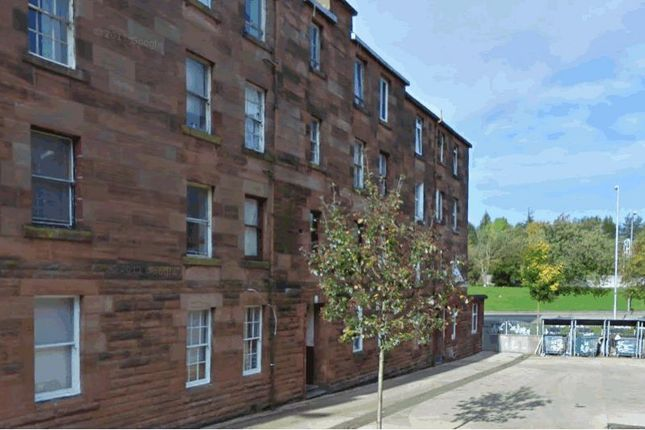Thumbnail Flat for sale in 5, Wallace Street, Flat 1-1, Port Glasgow PA145Ra