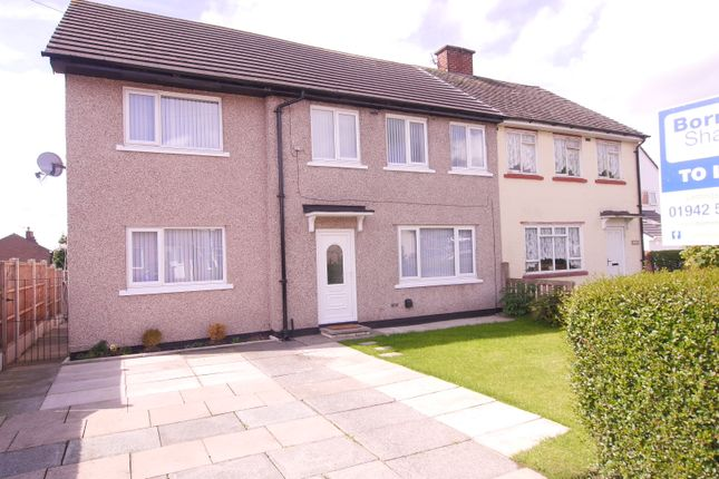 Thumbnail Semi-detached house to rent in Gathurst Lane, Shevington, Wigan