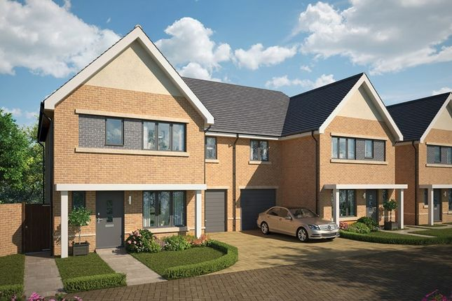 Thumbnail Semi-detached house for sale in Bellway At Qeii, Howlands, Welwyn Garden City