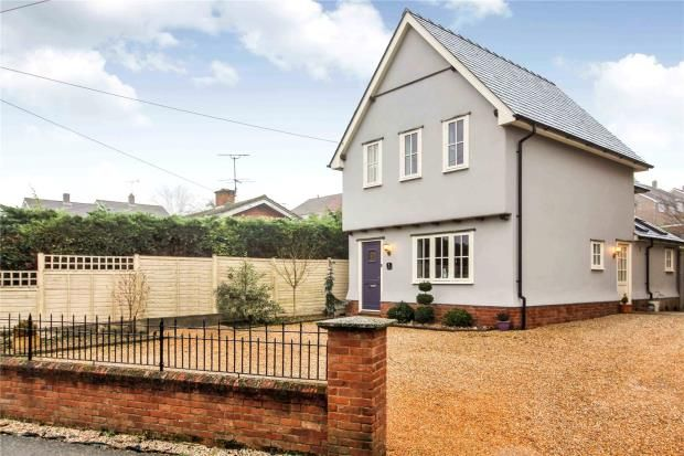 3 bed detached house for sale in Stour Cottages, White Horse Road, Kedington, Suffolk