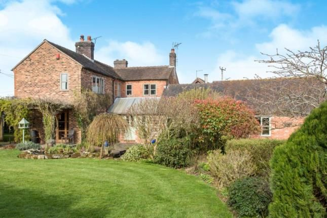Thumbnail Equestrian property for sale in Newcastle Road, Woore, Crewe, Shropshire