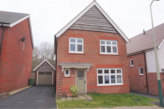 Thumbnail Detached house for sale in Brambling Crescent, Hengoed