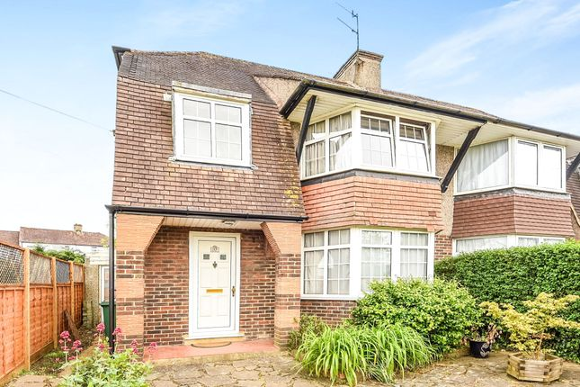 Thumbnail Semi-detached house for sale in Horley Road, Redhill