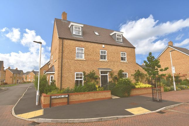 Thumbnail Detached house for sale in Dodimead Way, Biggleswade