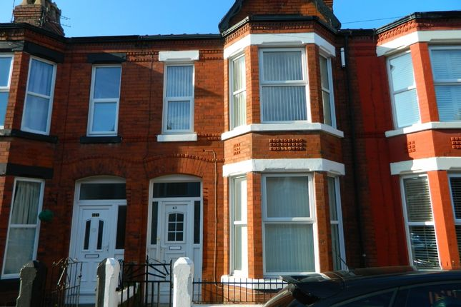 Thumbnail Terraced house to rent in Molyneux Road, Waterloo, Liverpool