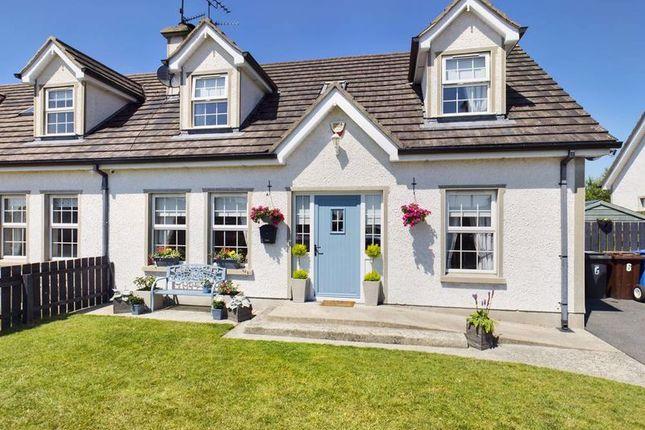 Thumbnail Semi-detached house for sale in Eden Valley, Jonesborough, Newry