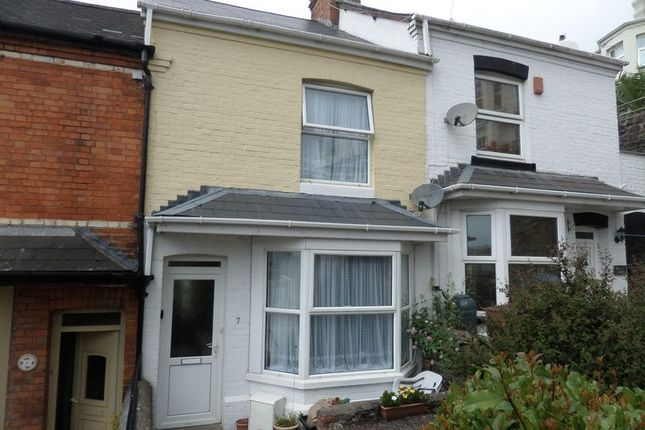 Thumbnail Terraced house to rent in Wellbrook Terrace, Bideford