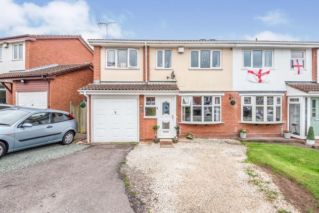 Thumbnail Semi-detached house for sale in Whittleford Grove, Castle Bromwich, Birmingham
