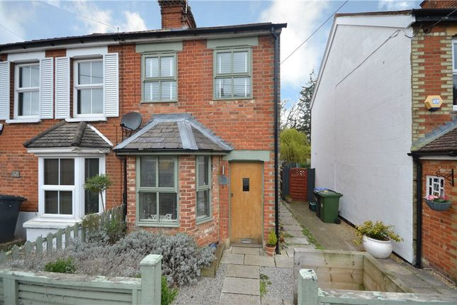 Thumbnail Semi-detached house for sale in New Road, Blackwater, Surrey