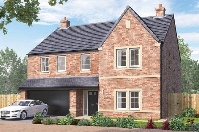 "Thumbnail Detached house for sale in ""The Kirkham"" at Steeplechase Way, Market Harborough"