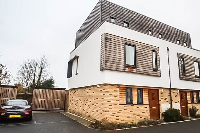 Thumbnail End terrace house to rent in Swallow Gardens, Chesterton, Cambridge