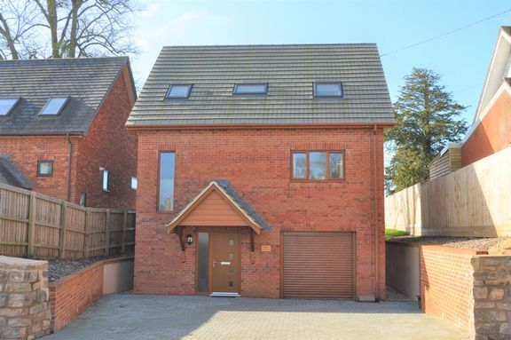 Thumbnail Detached house for sale in Tiverton Road, Cullompton