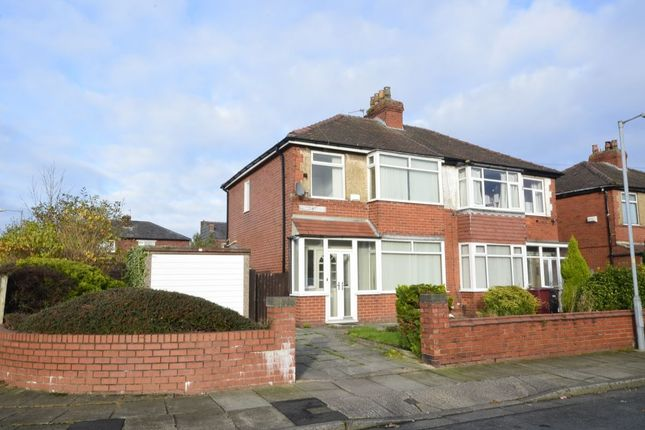 Thumbnail Semi-detached house to rent in Elton Avenue, Farnworth, Bolton