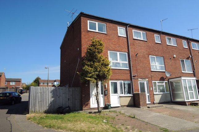 Thumbnail End terrace house to rent in Purcell Close, Colchester, Essex
