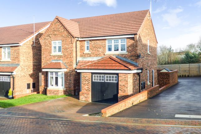 Thumbnail Detached house for sale in Nightingale Grove, Alfreton, Derbyshire