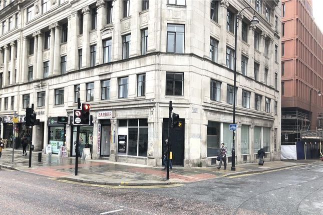 Thumbnail Retail premises to let in 15 Oxford Road, Manchester, Greater Manchester