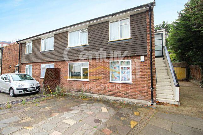 Thumbnail Maisonette for sale in Sussex Close, New Malden, Surrey