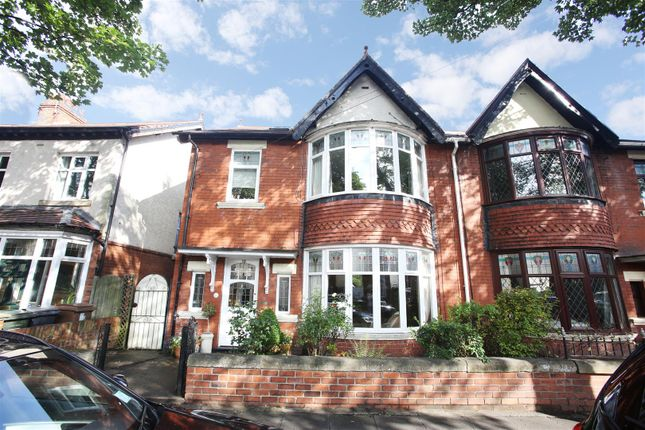 Thumbnail Semi-detached house for sale in Queens Drive, Whitley Bay