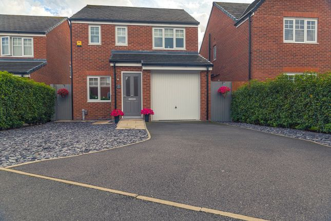 Thumbnail Detached house for sale in Grindleford Place, Warrington