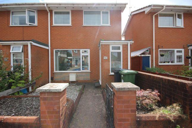 Thumbnail End terrace house to rent in Venny Bridge, Pinhoe, Exeter
