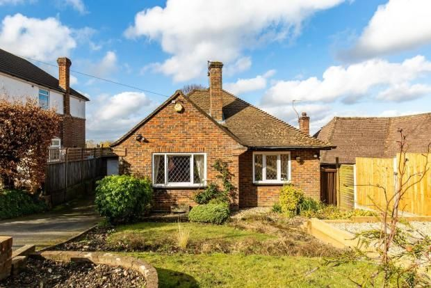 Thumbnail Detached bungalow to rent in The Woodfields, Sanderstead, South Croydon