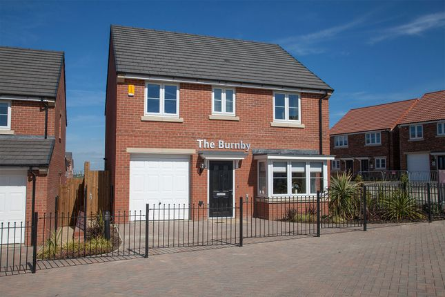 "Thumbnail Detached house for sale in ""The Burnby"" at Cobblers Lane, Pontefract"
