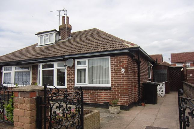 Thumbnail Semi-detached bungalow to rent in Kennerleigh Walk, Leeds