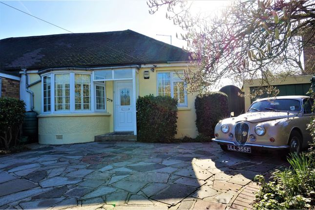 Thumbnail Bungalow for sale in Chelmsford Road, Shenfield