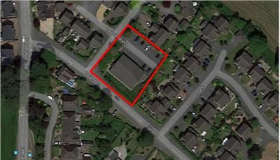 Thumbnail Land for sale in Former Barton House, Darland Lane, Rossett, Wrexham