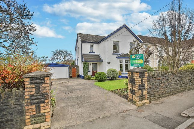 Thumbnail Semi-detached house for sale in Main Road, Church Village, Pontypridd