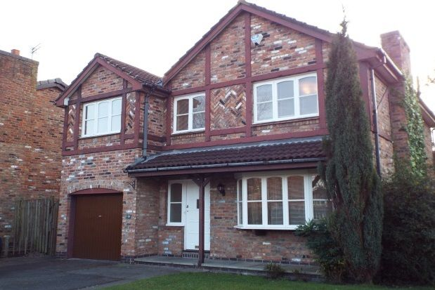 Thumbnail Property to rent in Greenwood Drive, Wilmslow