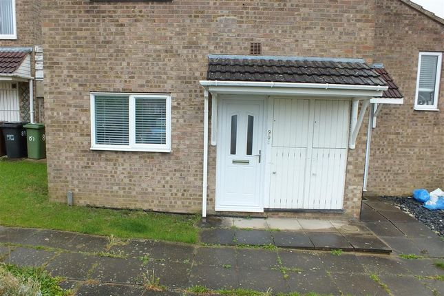 Thumbnail Flat for sale in Bede Close, Corby