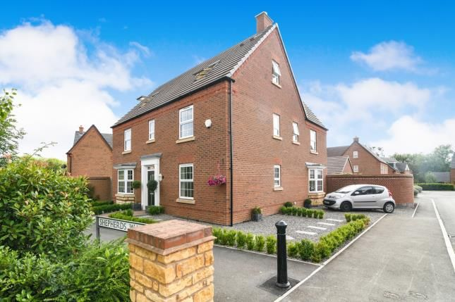 Thumbnail Detached house for sale in Shepherds Walk, Honeybourne, Evesham, Worcestershire