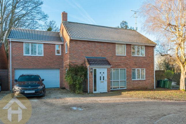 Thumbnail Detached house for sale in Pye Lane, Broad Town, Swindon