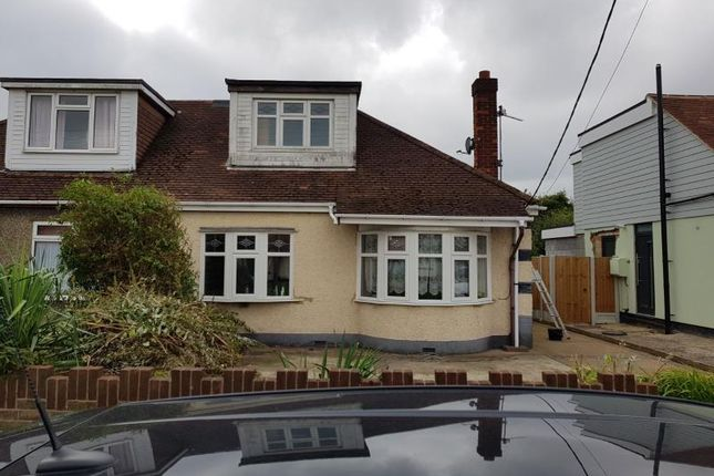 Thumbnail Bungalow for sale in Grandview Road, Benfleet
