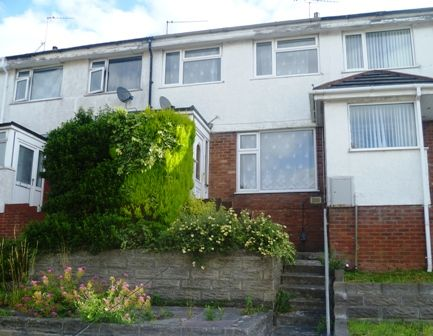 Thumbnail Terraced house to rent in St Aidens Way, Barry