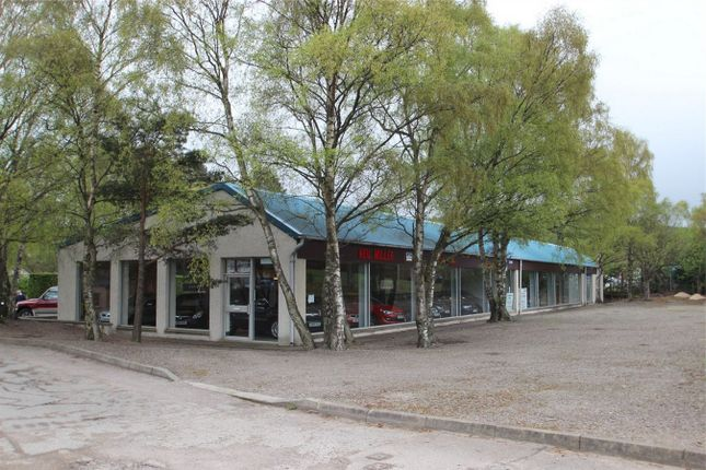 Thumbnail Commercial property for sale in Fogwatt Garage, Elgin, Moray