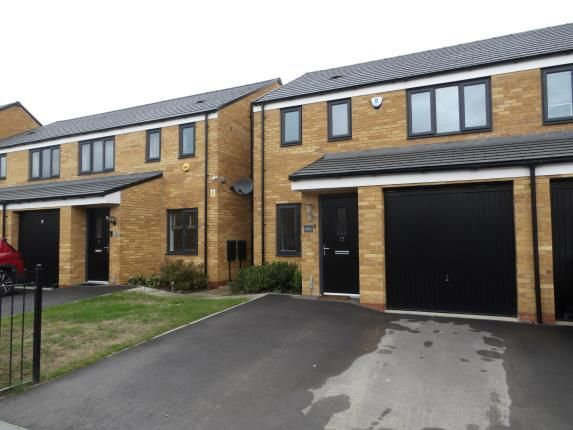 Thumbnail 3 bed semi-detached house for sale in Westbury Drive, Hampton Gardens, Peterborough, Cambridgeshire