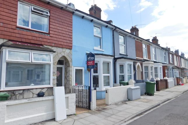 Thumbnail Terraced house to rent in Lynn Road, Portsmouth