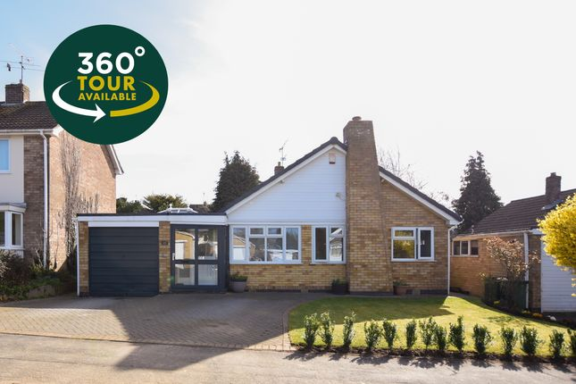 Thumbnail Detached bungalow for sale in Launde Road, Oadby, Leicester