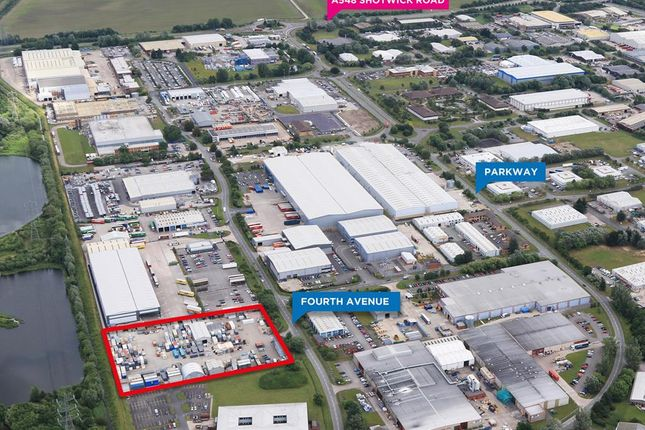 Thumbnail Land to let in Fourth Avenue, Deeside, Flintshire