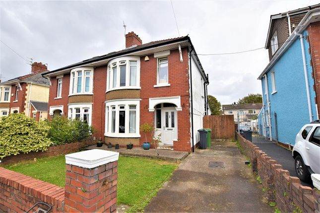 Thumbnail Semi-detached house for sale in Homelands Road, Rhiwbina, Cardiff.