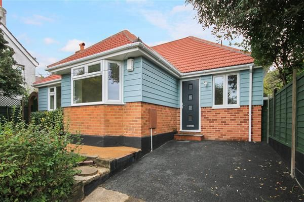 Thumbnail Bungalow for sale in Cromwell Road, Parkstone, Poole