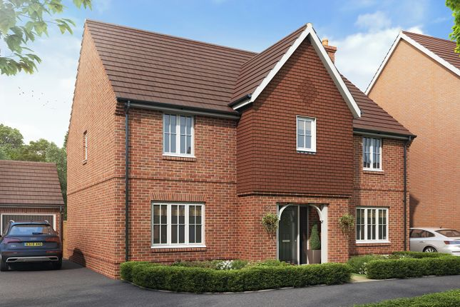"""Thumbnail Detached house for sale in """"The Kitchener"""" at Boorley Green, Winchester Road, Botley, Southampton, Botley"""